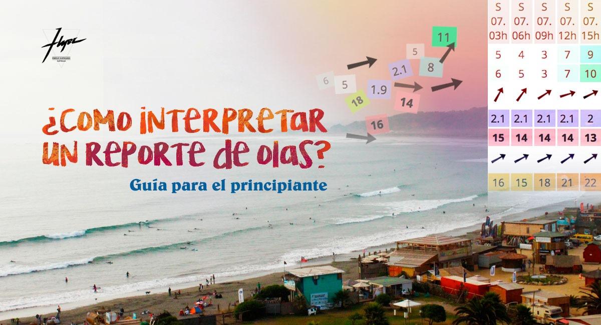 Intepretar reporte de olas en Chile_Tablas de surf